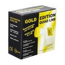 GOLD EDITION QUAD LNB